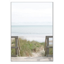 Bay View Framed Canvas Wall Art