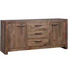 Large Melanie Pine Wood Buffet