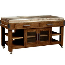 Pedro Pine Wood Work Bench