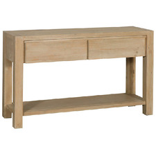 Arlie Pine Wood Console Table