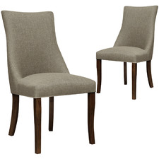 Jacob fabric Dining Chairs (Set of 2)