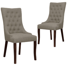 Sophie fabric Dining Chairs (Set of 2)