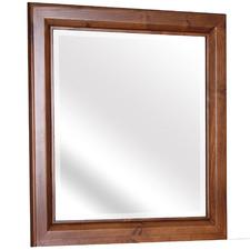 Dark Brown Merlin Wooden Dressing Table Mirror