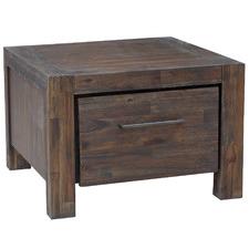 Elizabeth Acacia Wood Bedside Table