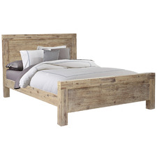 Natural Gowther Acacia Wood Bed