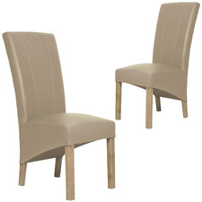 Carter Leather Dining Chairs (Set of 2)