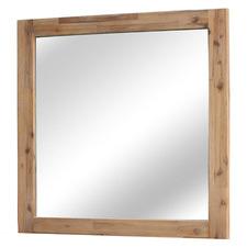 Caspian Acacia Wood Dressing Mirror