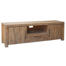 Caspian Acacia Wood Entertainment Unit