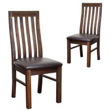 Belinda Acacia Wood Dining Chairs (Set of 2)
