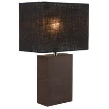 Tahoe Walnut Base Table Lamp (Set of 2)