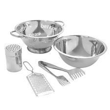 5 Piece Stainless Steel Pasta Set