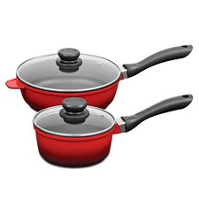 2 Piece Forged Aluminium Cookware Set