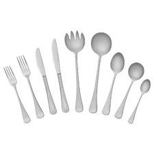 58 Piece Platinum Stainless Steel Cutlery Set