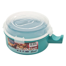 Teal Premium 16cm Breakfast Bowl with Lid