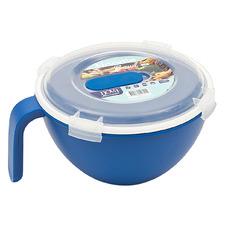 Blue Premium 18cm Noodle Bowl with Lid