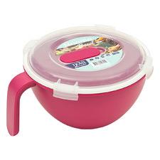 Raspberry Premium 18cm Noodle Bowl with Lid