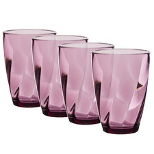 Belize 365ml Polycarbonate Tall Tumblers (Set of 4)