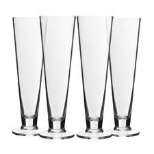 Belize 395ml Polycarbonate Beer Glasses (Set of 4)