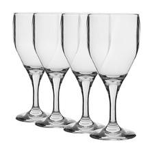 Belize 330ml Polycarbonate Wine Glasses (Set of 4)
