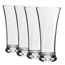Belize 345ml Polycarbonate Beer Glasses (Set of 4)