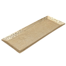 Gold Hammered Decorative Tray