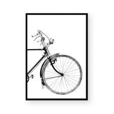 Black Bicycle II Framed Paper Print