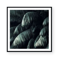 Ghostly Green II Framed Paper Print