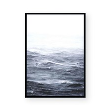 Troubled Waters II Framed Paper Print