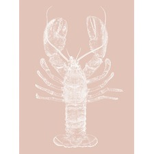 Be My Lobster Two Printed Wall Art