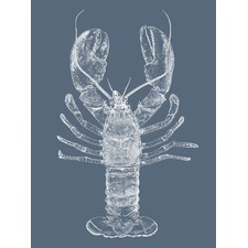 Be My Lobster Printed Wall Art