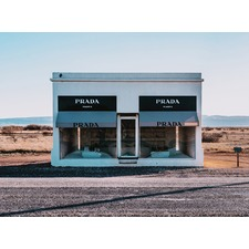 Prada, Marfa Unframed Canvas Wall Art