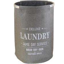 Round Fabric Laundry Hamper