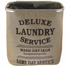 Square Fabric Laundry Hamper