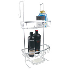 Silver Cove Over-The-Door Shower Caddy