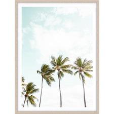 Tropical Palms Printed Wall Art