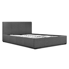 George Upholstered Gas Lift Bed