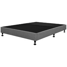 Grey Lennon Upholstered Bed Base