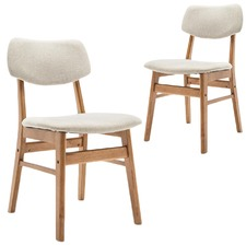 Greta Upholstered Dining Chairs (Set of 2)