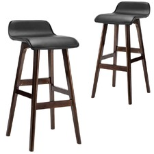 Charlie Faux Leather Barstools (Set of 2)