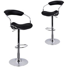 Picard Faux Leather Barstools (Set of 2)