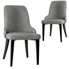 Arnault Fabric Dining Chairs (Set of 2)