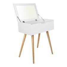 Scandi Dressing Table & Foldaway Mirror