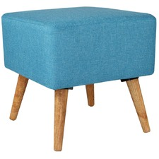 Square Look & Pine Wood Foot Stool