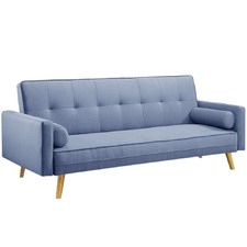 Ally 3 Seater Faux Sofa Bed