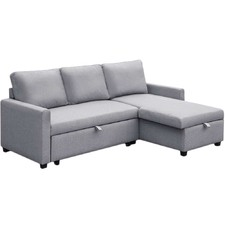 Sinead 3 Seater Sofa Bed with Storage