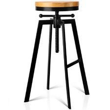 Adjustable Angelica Industrial Barstool