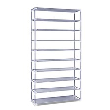 Space Maker Metal Shoe Storage Shelf
