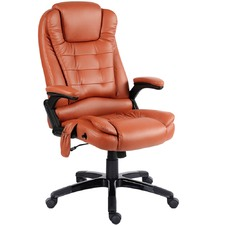 Faux Leather Massage Office Chair