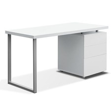 Contemporary 3 Drawer Office Desk