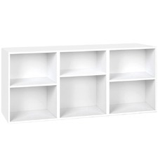 3 Part Contemporary Storage Shelf